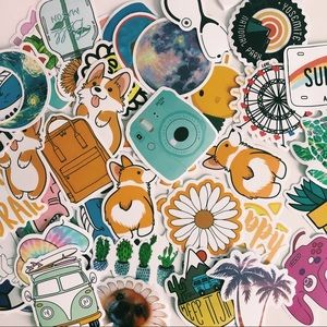 Bundle of 20 RANDOM VSCO stickers Hydroflask